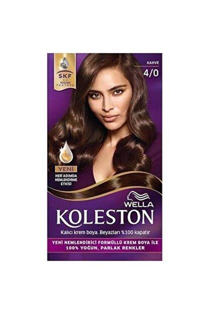 Wella Koleston 4/0 Kahve  Saç Boyası