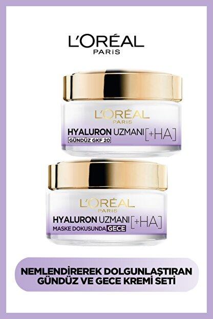 L'Oreal Paris Hyaluron Expert Gündüz & Gece Kremi Hyaluron Set