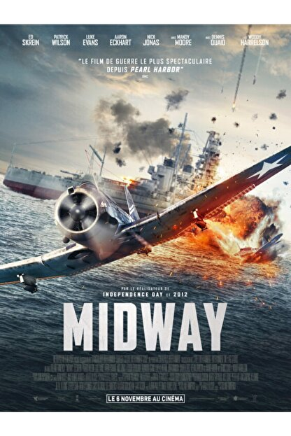 POSTER Midway (2019) 35 X 50 Funnyman