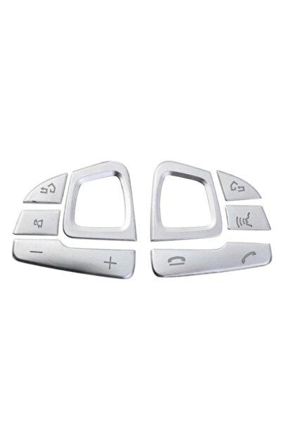 Yekoto Mercedes E W213 Uyumlu Krom Direksiyon Tuş Takımı