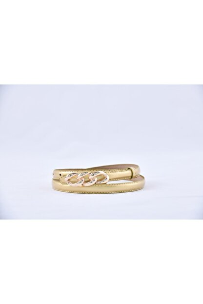 Keskin bijuteri Kadın Gold Metal Tokalı Kemer
