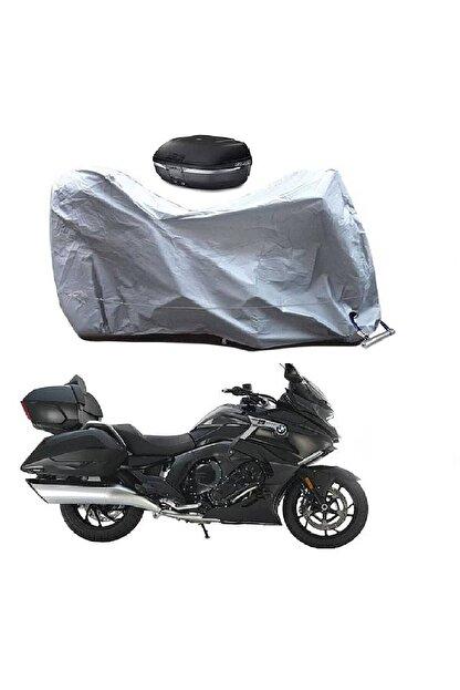 otoTR Kawasaki Vn 800 Classic Motosiklet Branda Arka Çanta Uyumlu