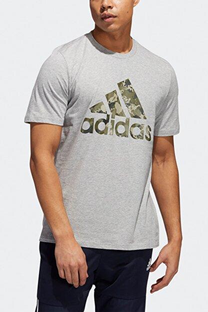 adidas UNV CAMO SS Gri Erkek T-Shirt 101118217