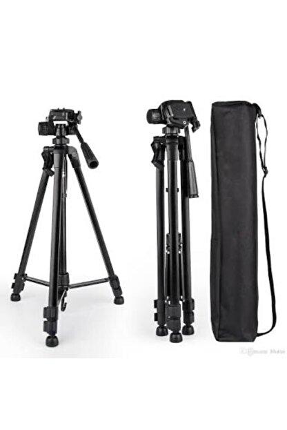 Mobildizayn Profesyonel Kamera Tripod 140 cm Telefon Tutucu Tripot Büyük 3366