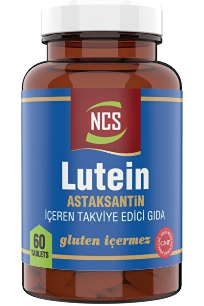Ncs Lutein 15 Astaksantin 12 Mg 60 Tablet Çinko