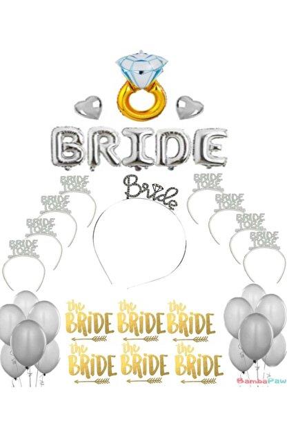 BambaPaw Bride To Be Bekarlığa Veda Parti Konsepti Set