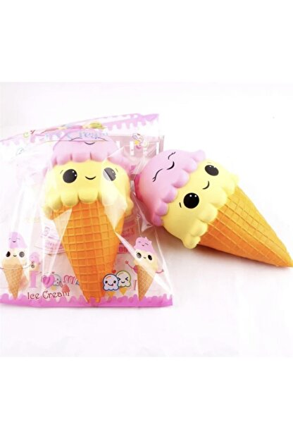 oyuncakchi Squishy Gülen Dondurma 16 Cm Sukuşi Yavaş Yükselen Oyuncak