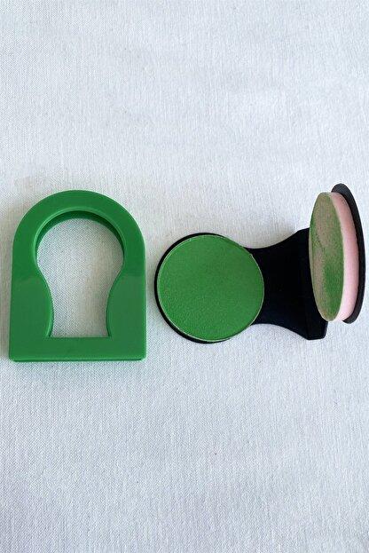 Takıştır Yeşil Renk Saç Tebeşiri