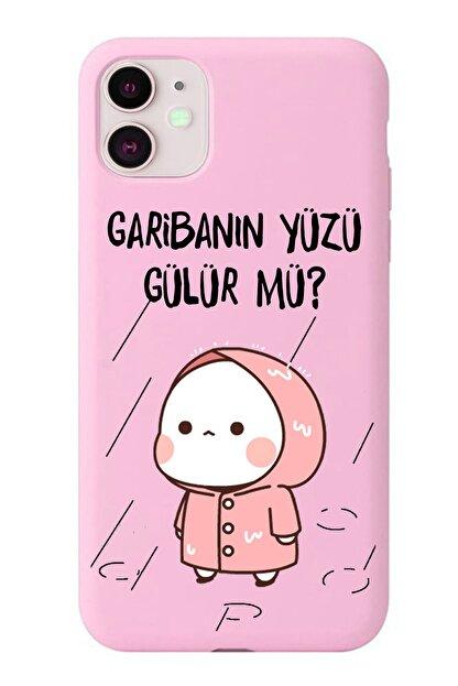 POFHİ General Mobile Gm8 Go Garibanın Yüzü Gülür Mü Pembe Premium Telefon Kılıfı