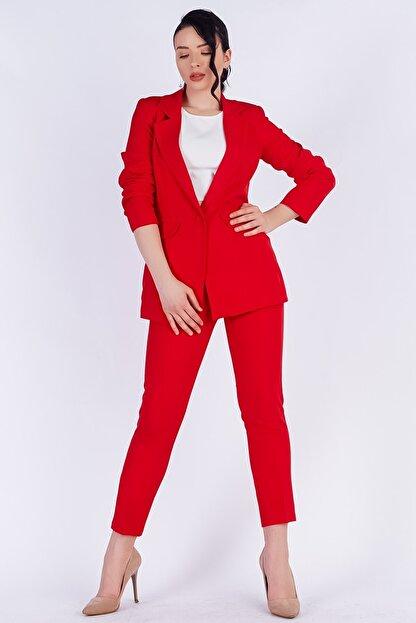 TEORA FASHION Blazer Ceket Pantolon Takım