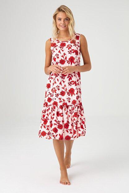 Mod Collection Kadın Lacivert Puanlı Elbise