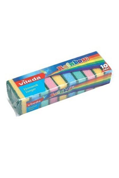 Vileda Rainbow Bulaşık Süngeri 10'lu