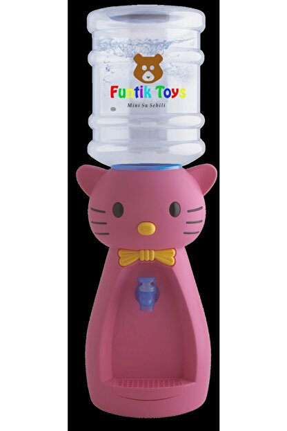 Funtik Toys Funtik Ayı Çocuk Su Sebili Pembe (bardak Hediyeli) Pembe