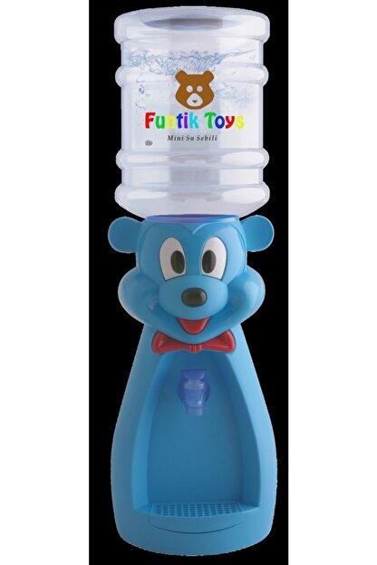 Funtik Toys Funtik Ayı Çocuk Su Sebili Mavi (bardak Hediyeli) Mavi