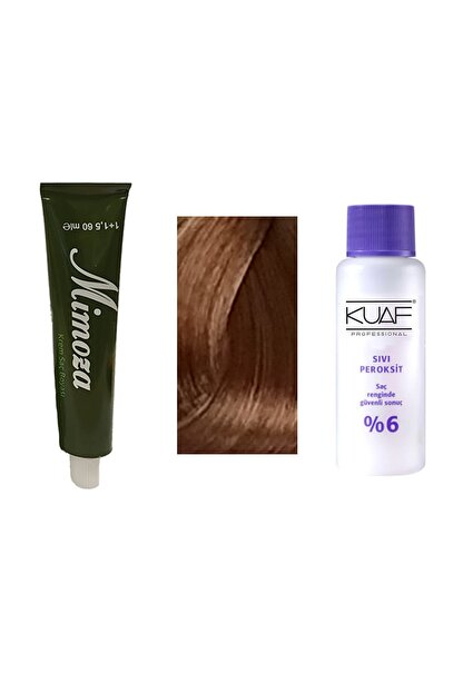 Mimoza Argan Yağlı Saç Boyası No: 7 Kumral 60 ml