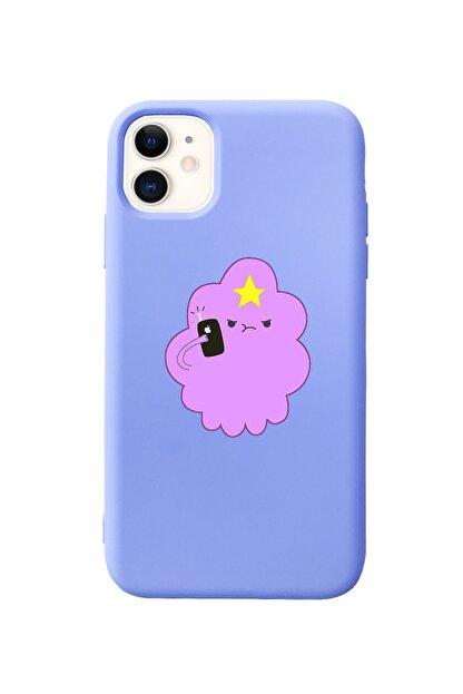 Mupity Iphone 11 Lila Prenses Telefon Tasarımlı Lansman Kılıf