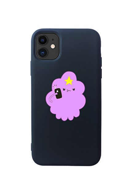 Mupity Siyah Prenses Telefon Tasarımlı Lansman Iphone 11 Kılıf