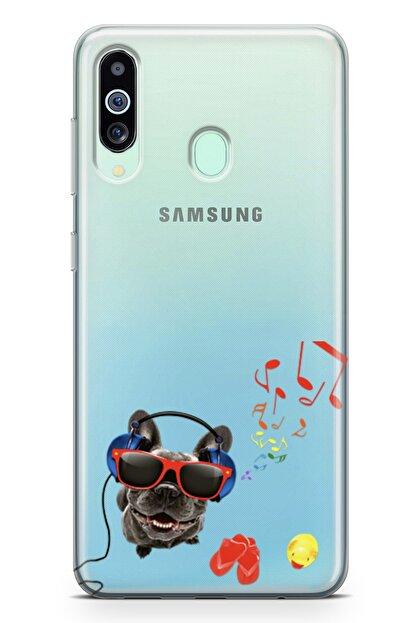 Lopard Samsung Galaxy A60 Kılıf Entel Köpek Arka Kapak Koruma Desenli Full Koruyucu