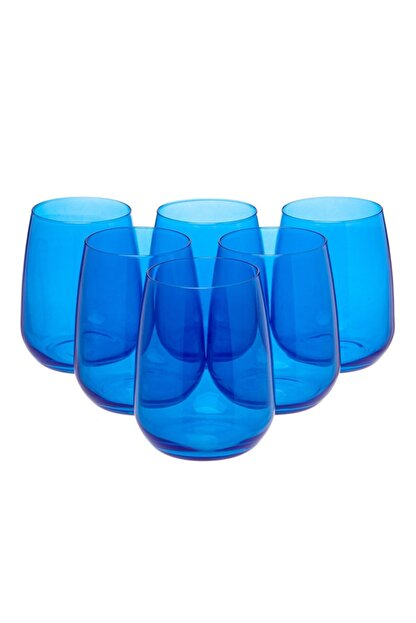 Bormioli Rocco Aqua Bardak 6 Lı Mavi