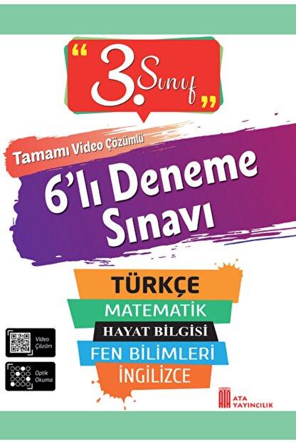 Ata Yayıncılık 3. Sınıf 6'lı Poşet Deneme Sınavı Ata Yayınları