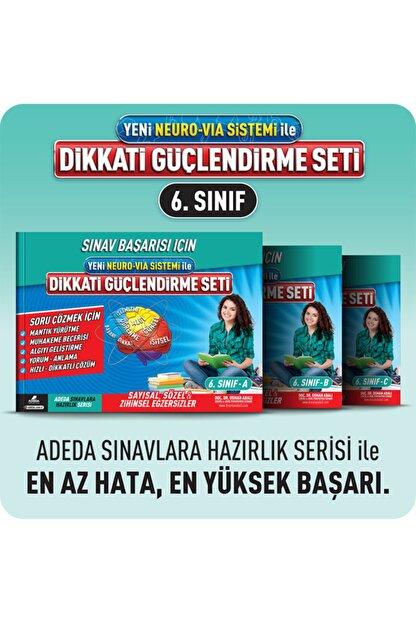 Adeda Yayınları Orıgınal Adeda Dikkati Güçlendirme Seti - 6. Sınıf - 12 Yaş Neuro Via - Osman Abalı