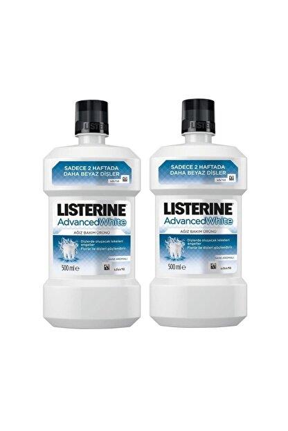 Listerine Ağız Çalkalama Suyu 500 ml 2 Adet