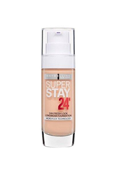 Maybelline New York Uzun Süre Kalıcı Fondöten - Super Stay 24H Foundation 30 Sand 30 ml 3600530625352