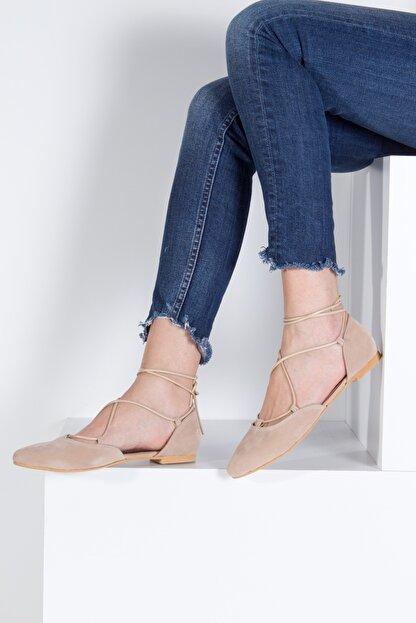 Fox Shoes Ten Kadın Babet B726047202