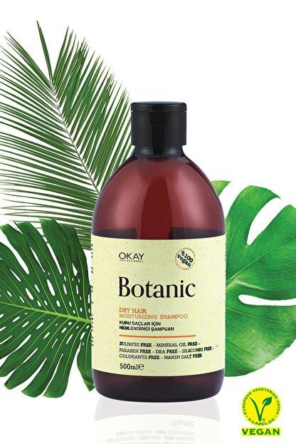 Botanic Kuru Saçlar için Nemlendirici Şampuan 500 ml 8698636614542