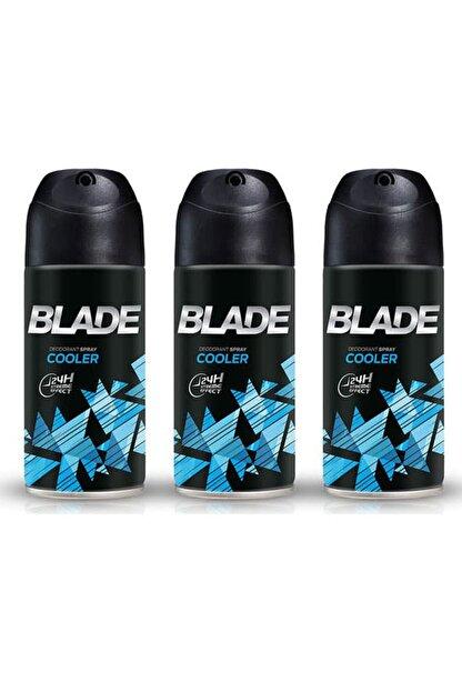 Blade Cooler 3'lü Erkek Deodorant 3 x 150 ml 506618-3