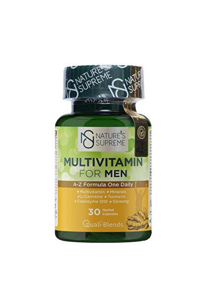 Natures Supreme Multivitamin For Men 30 Kapsül 8681763380053