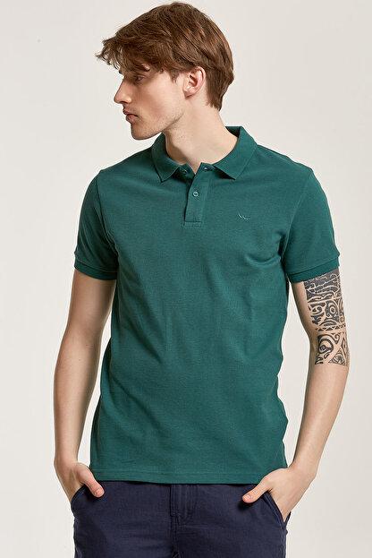 Ltb Erkek  Yeşil Polo Yaka T-Shirt 012188431960880000