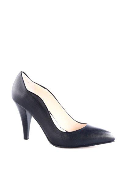 Dgn Siyah Kadın Klasik Topuklu Ayakkabı 290-148
