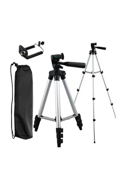 AlpCollection 3110 Ayarlanabilir 1m 105cm Kademeli Telefon Kamera Tripod Ayak