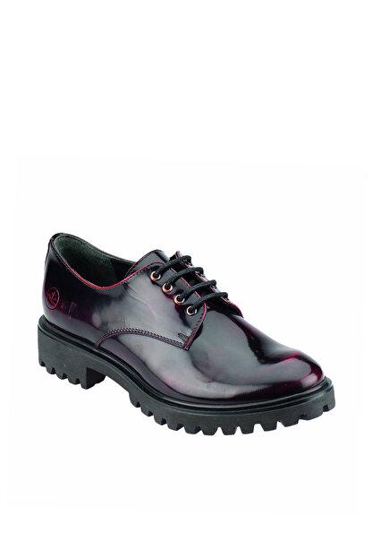 Lumberjack A3322036 Koyu Kırmızı Kadın Deri Ayakkabı 100200332