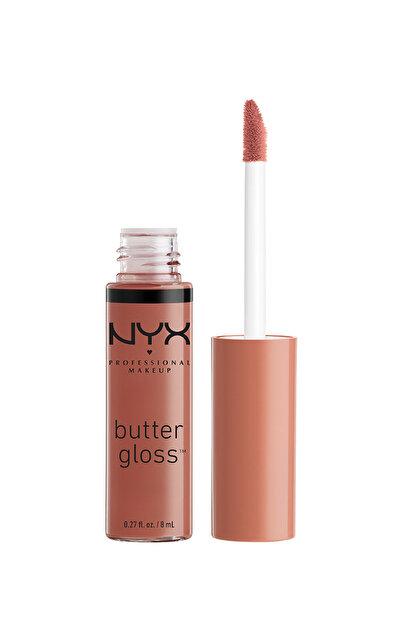 NYX Professional Makeup Dudak Parlatıcısı - Butter Gloss Praline 15 g 800897828370