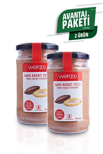 Wefood Organik Ham Kakao Tozu 140 gr 2'li