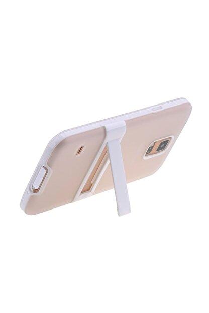 Ally Mobile Ally Galaxy S5 I9600 G900 Standlı Silikon Kılıf Şeffaf