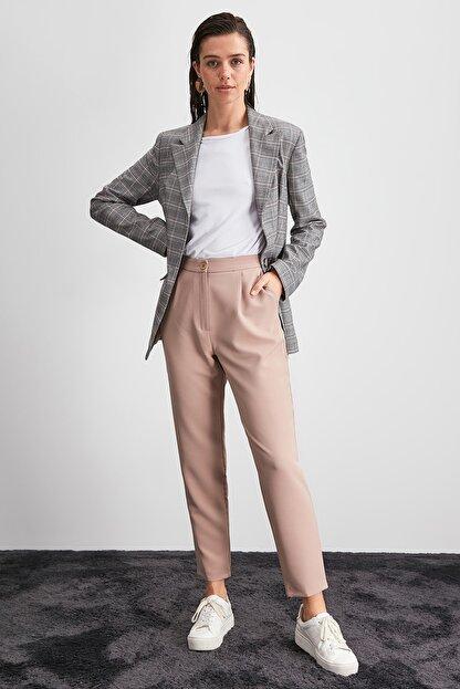 TRENDYOLMİLLA Taş Yüksek Bel Pantolon TWOAW20PL0172.