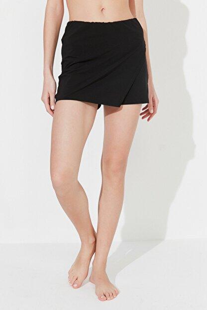 Penti Siyah Skirt Deniz Şortu