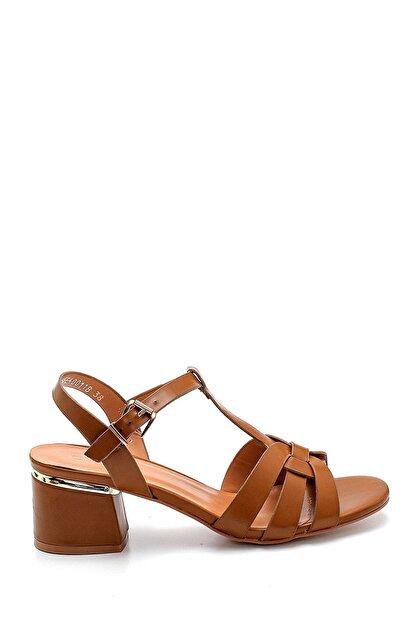 Derimod Kadın Taba Topuklu Sandalet