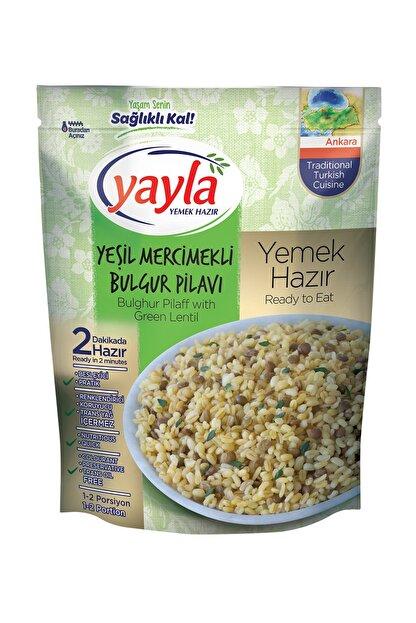Yayla Yemek Hazır Yeşil Mercimek Bulgur Pilavı 250gr
