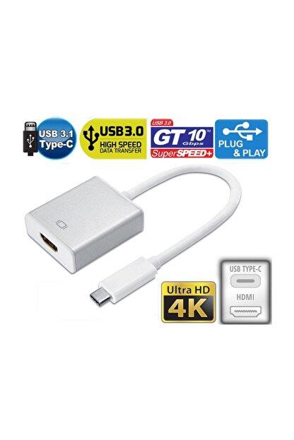 Onten Type C 3.1 HDMI 4K Ultra HD 2160p TV Projeksiyon Görüntü Aktarıcı