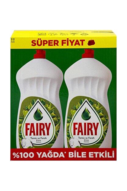 Fairy Elde Bulaşık Deterjanı  Elma 2x1350 ml