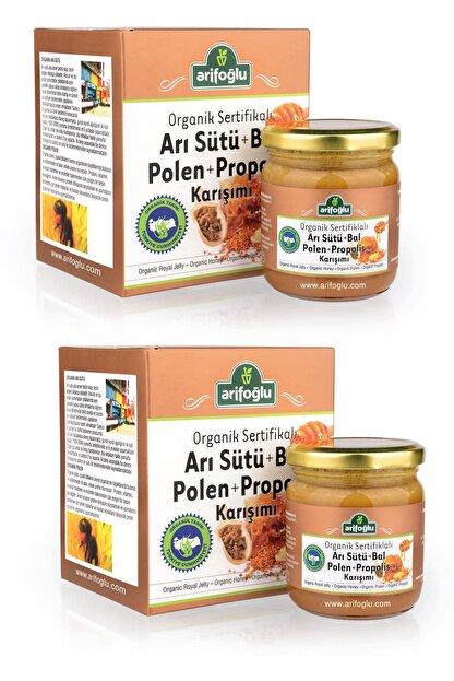 Arifoğlu Organik Arı Sütü - Bal - Polen - Propolis 230gr x 2