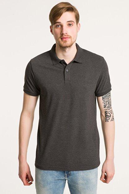 Ltb Erkek  Antrasit Polo Yaka T-Shirt 012188431960880000