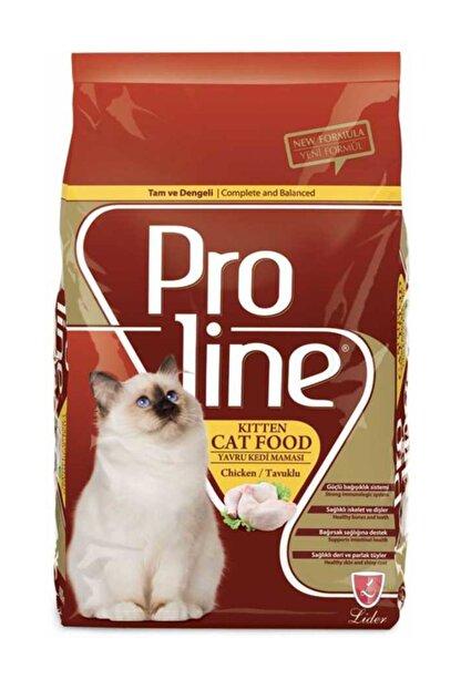 Pro Line Kitten Tavuklu Yavru Kedi Maması 1,5 Kg