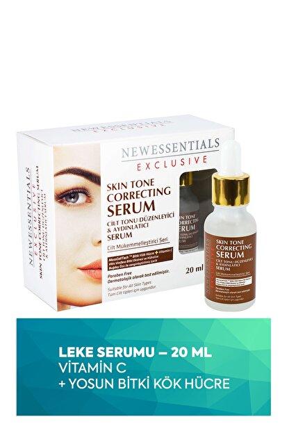 New Essentials Aydınlatıcı ve Leke Giderici Yüz & Cilt Bakım Serumu 20 ml kozmopkt163