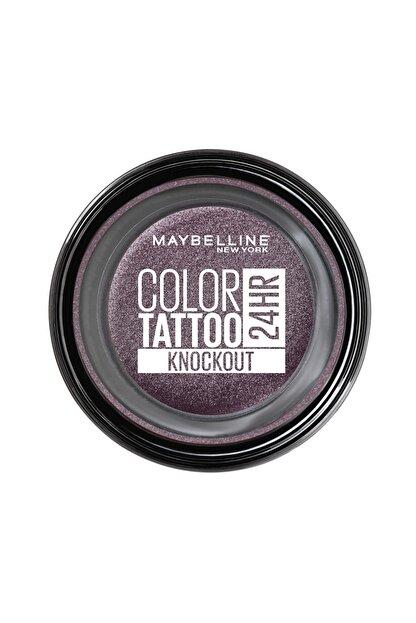 Maybelline New York Krem Göz Farı - Color Tattoo 24HR 160 Knockout 3600531581473