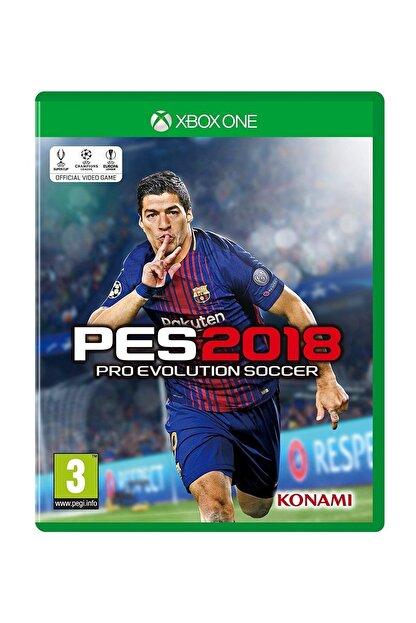 Konami Pes 2018 Xbox One Oyun
